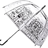 Winter showers are a bit easier to cope with when you have a Lulu Guinness umbrella (£32).