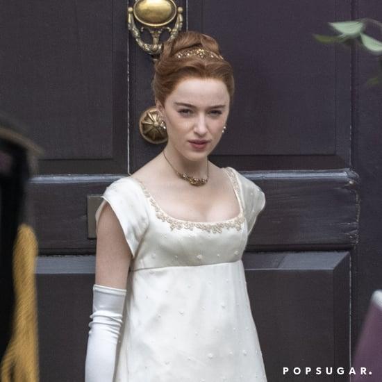 See Phoebe Dynevor in Bridgerton Season 2 Photos
