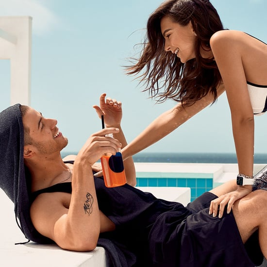 Nick Jonas and Emily Ratajkowski in Glamour June 2016
