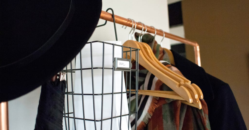 This DIY Clothing Rack Is What Your Small Space Needs