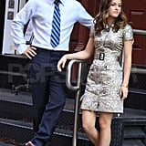 Photos of Gossip Girl Filming in NYC