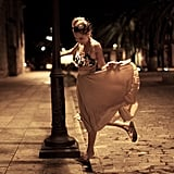Lauren Conrad shared this gorgeous photo of herself dancing in the street. Source: Instagram user laurenconrad