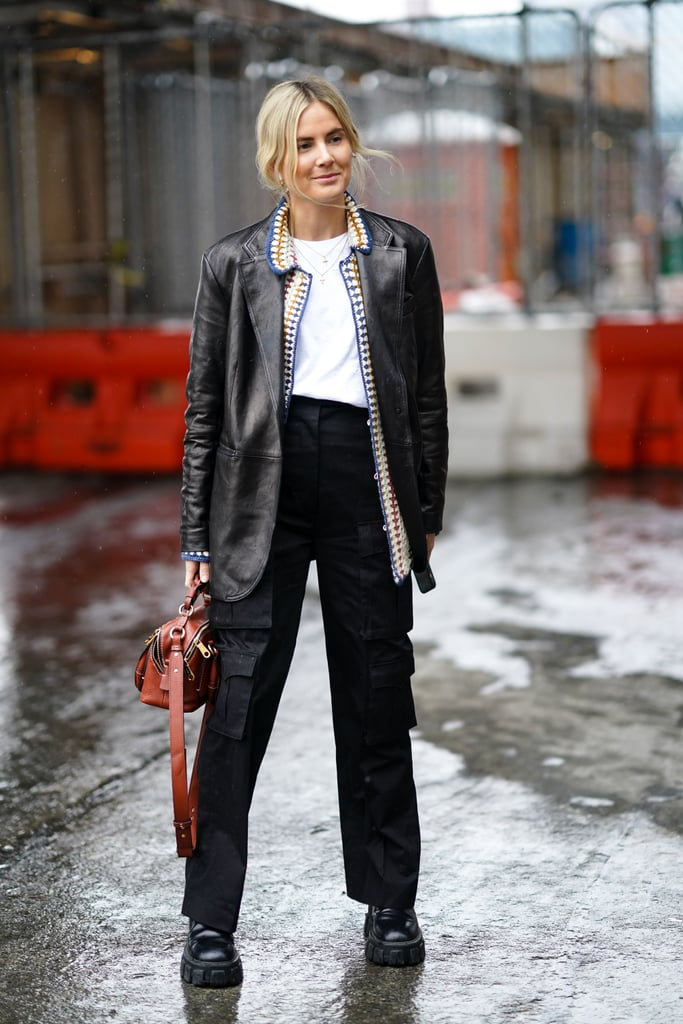 How to Style Black Cargo Trousers