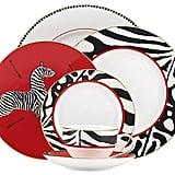 Zebra Place Setting ($165)
