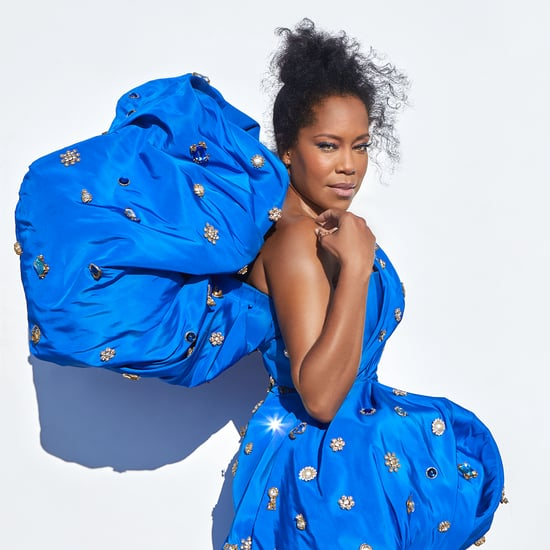 Regina King's Dress and Breonna Taylor T-Shirt at the Emmys