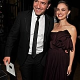 Jean Dujardin and Natalie Portman at the SAGs.