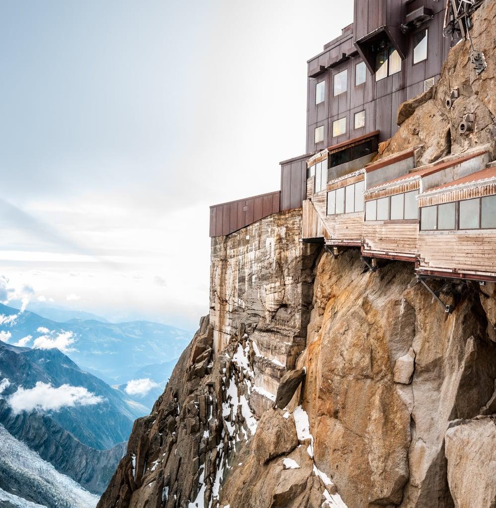 Aiguille du Midi mountain