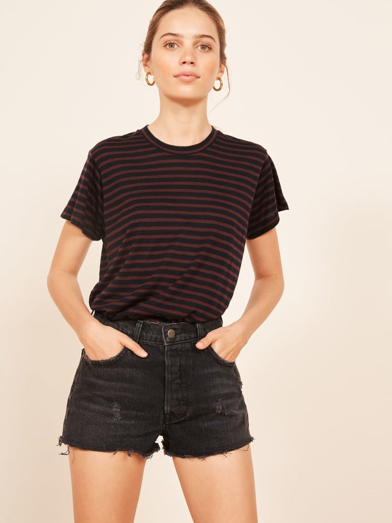 Reformation Plush Relaxed Crew Tee