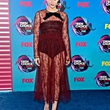 Lili Reinhart at the 2017 Teen Choice Awards