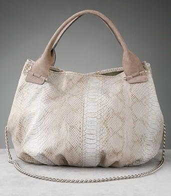 ginette etc... Royal Python Bucket Bag