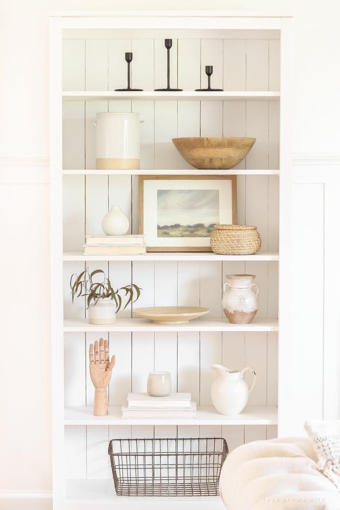Shiplap Hemnes Bookcase