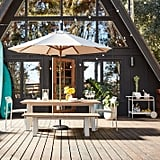 West Elm Halden Outdoor Dining Table