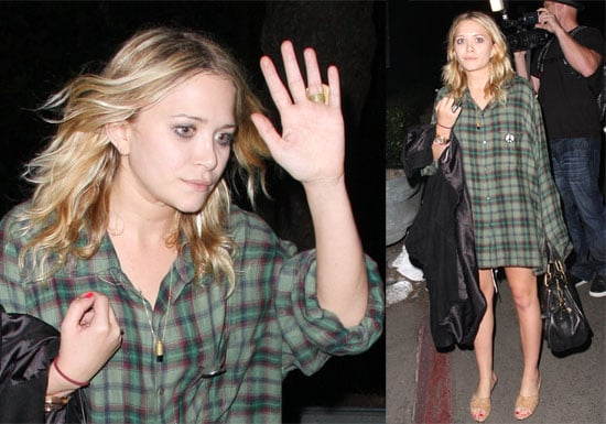 Photos of Mary-Kate Olsen at Radiohead Concert