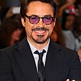 Robert Downey Jr., welcomed a son, Exton, in February 2012.