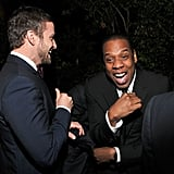 Justin Timberlake made Jay-Z laugh out loud.