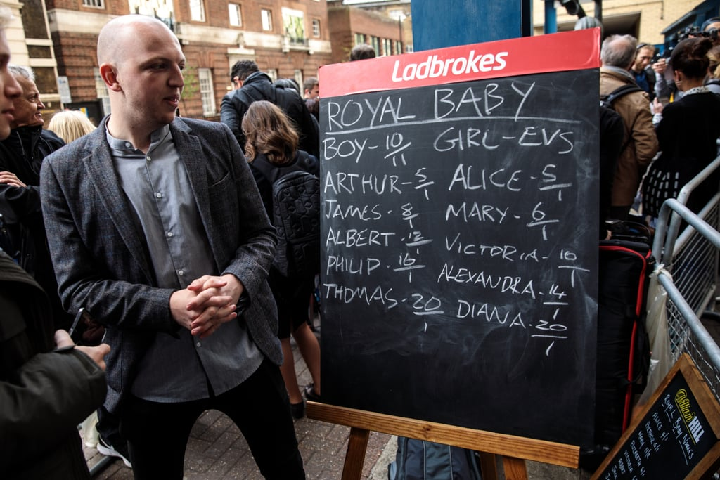 People Placed Bets on What the Baby's Name Would Be