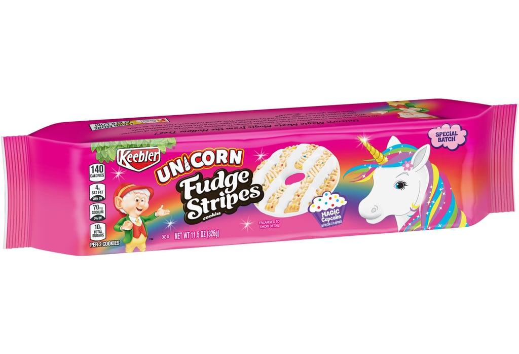 Keebler Cupcake-Flavoured Unicorn Fudge Stripes Cookies 2019