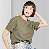 Women's Short Sleeve Oversized Boxy T-Shirt