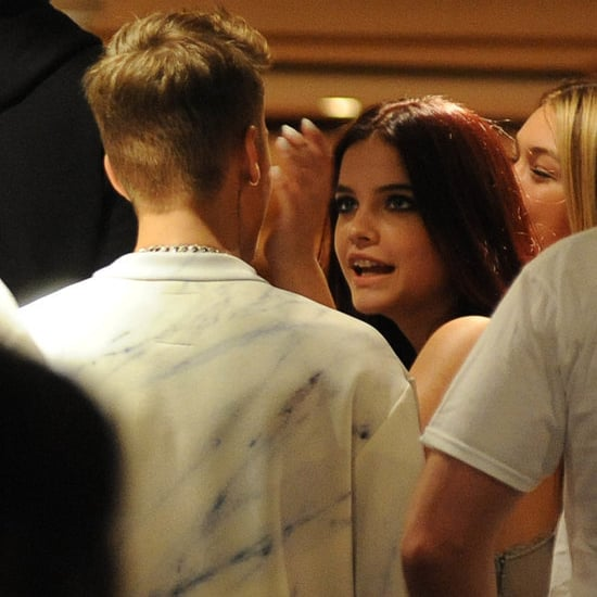 Justin Bieber and Barbara Palvin at Roberto Cavalli's Party