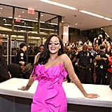 Rihanna's Pink Dress at Fenty Beauty Anniversary