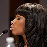 Jennifer Hudson attended a press conference ahead of the Novel Peace Prize Concert in Oslo.