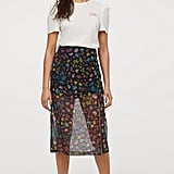 H&M Mesh Skirt