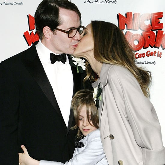 Sarah Jessica Parker Kissing Matthew Broderick Pictures