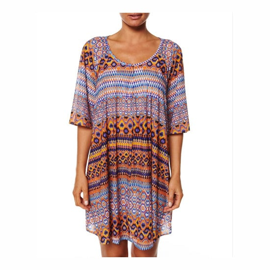 Tigerlily Sheer Tribal Dress, $149.95