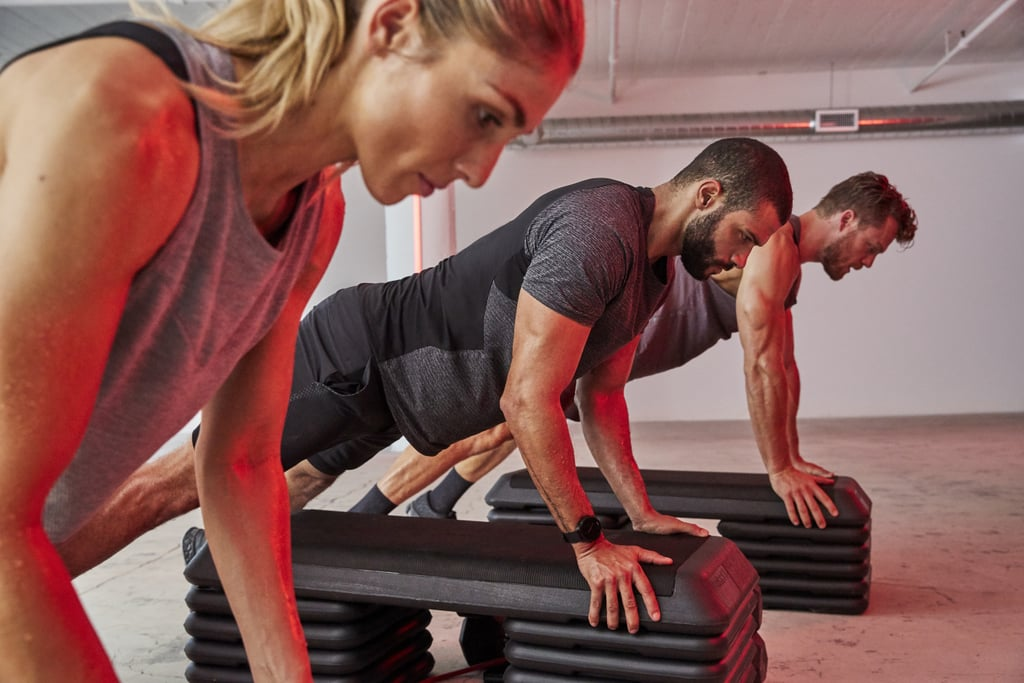 Lululemon and Barry's Bootcamp Activewear Details