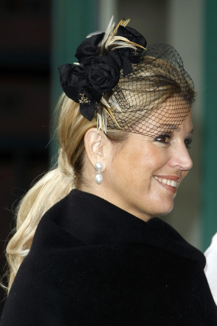 Princess Maxima Of The Netherlands Visited Germany Wearing
