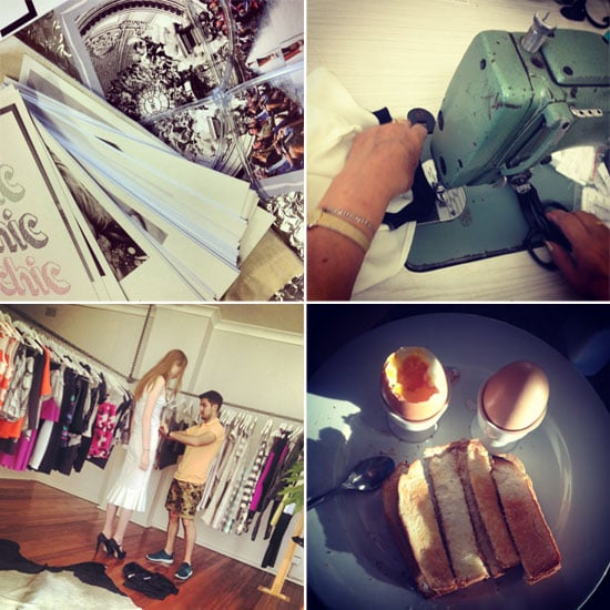 A Day in the Life: By Johnny's Fashion Week Instagram Diary