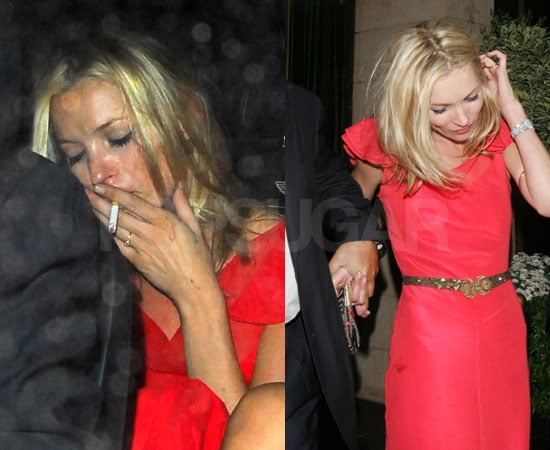 Kate Moss Celebrates Her Success