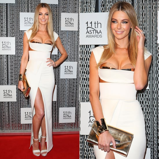 Rate it or Hate it? Jennifer Hawkins on the ASTRA Red Carpet