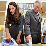 """Sure, I'll do an ironing contest with you, Princey Boy."""