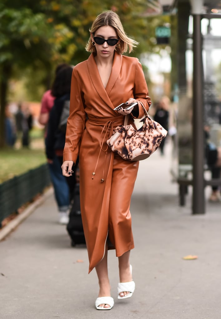 The Spring 2020 Dress Trend: Leather