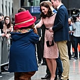 Kate Middleton Dances With Another Man in Front of Prince William — Paddington Bear!