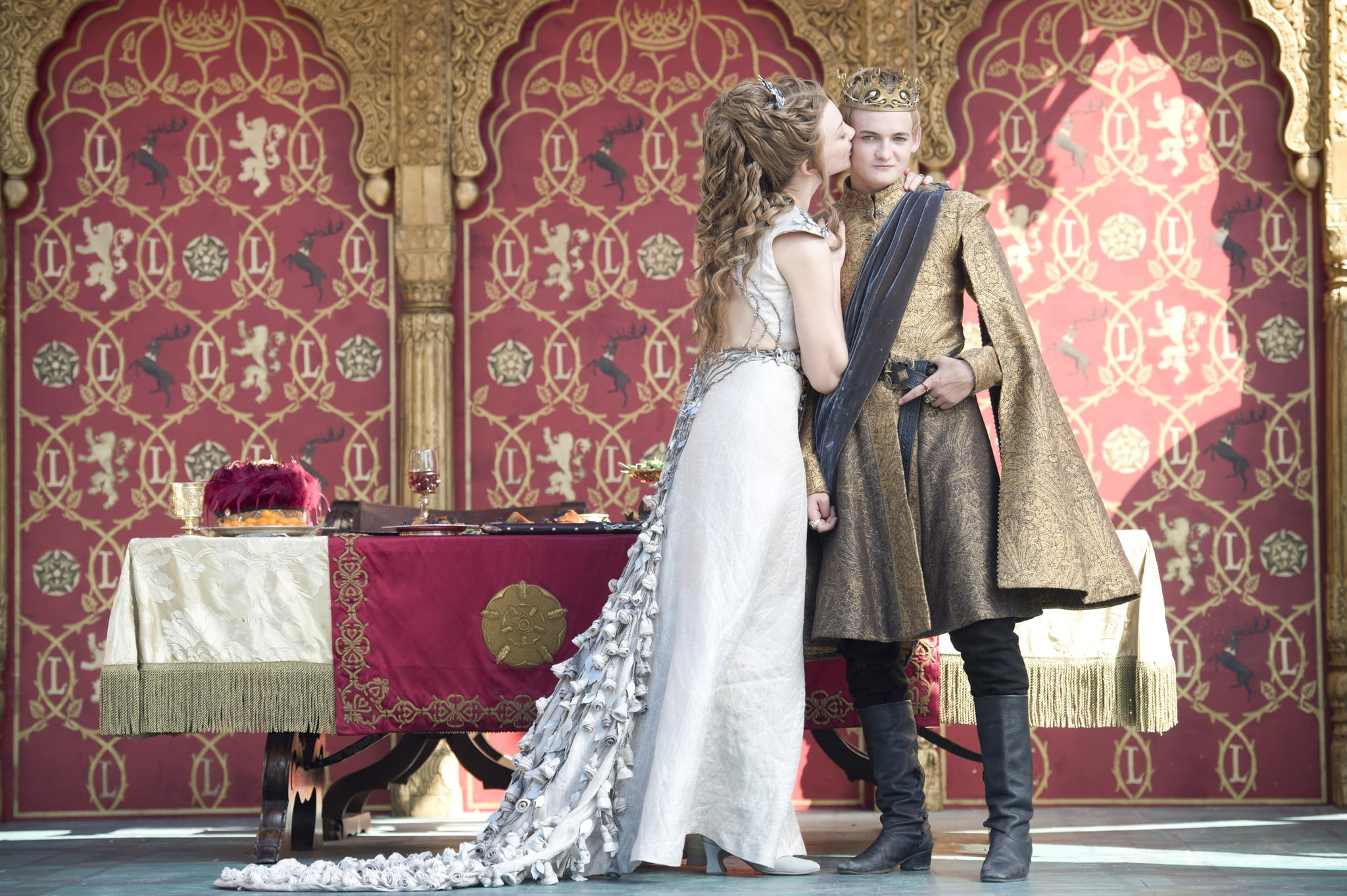 What a delightful portrait and not at all representative of what Margaery thinks of her new husband.