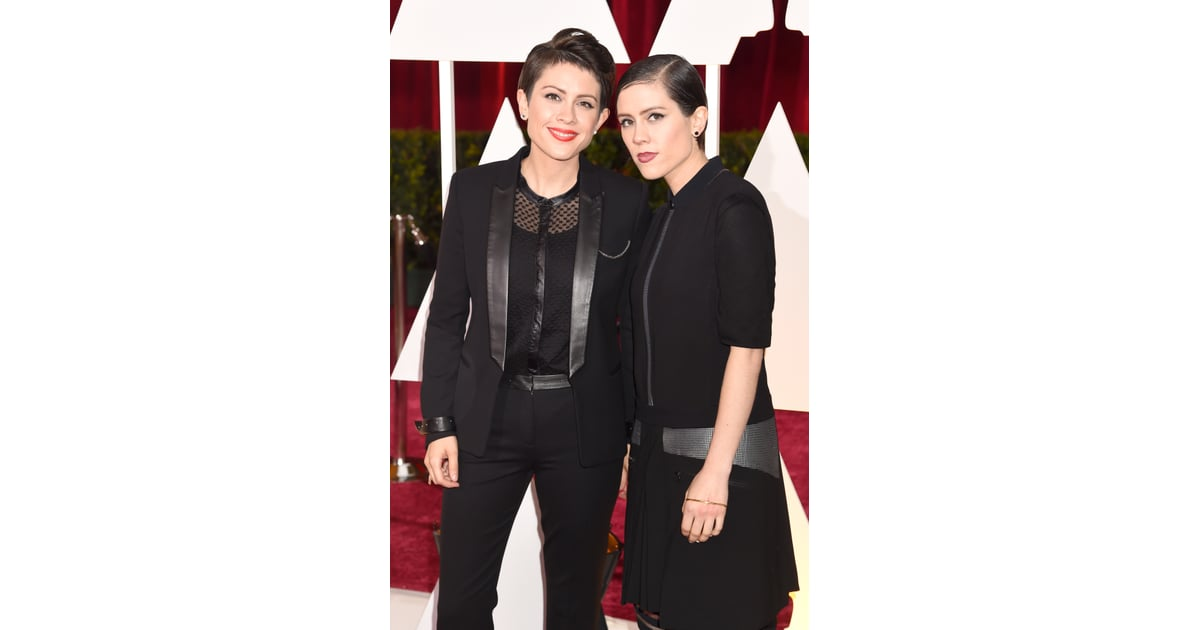 Tegan And Sara Oscars 2015 Hair And Makeup On The Red