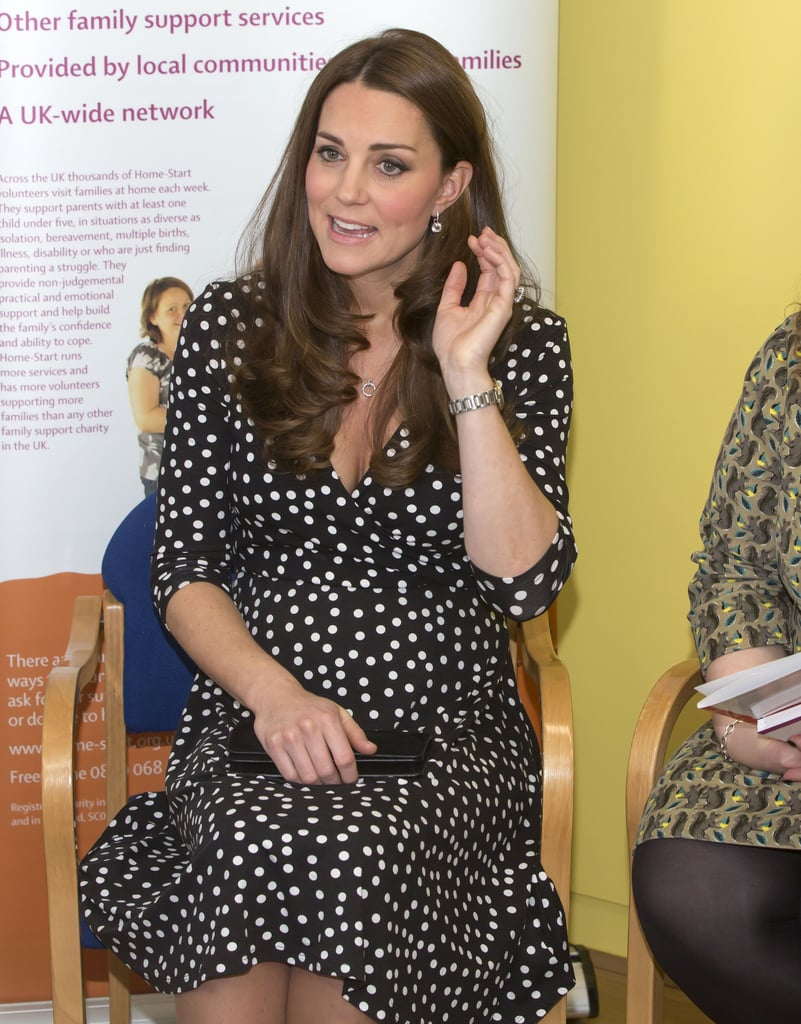 The duchess of cambridge wearing asos kate middleton wears a polka the duchess of cambridge wearing asos ombrellifo Gallery