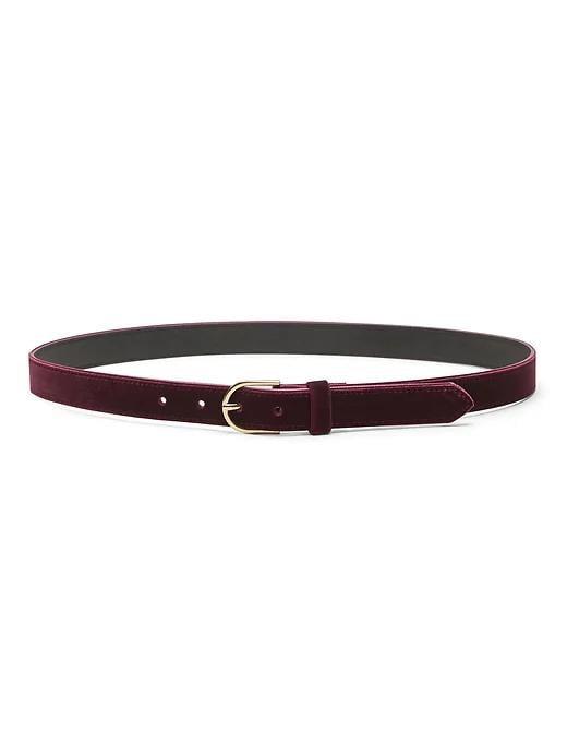 Velvet Trouser Belt