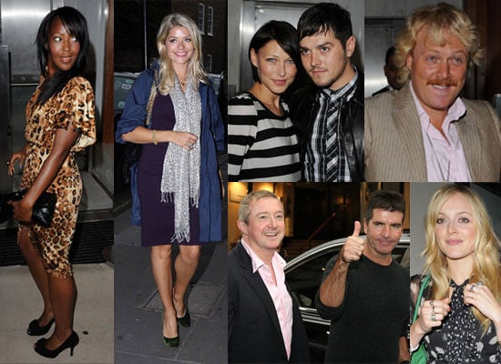 Photos Of Angelica Bell, Holly Willoughby, Fearne Cotton, Simon Cowell, Louis Walsh, Leigh Francis And Emma And Matt Willis