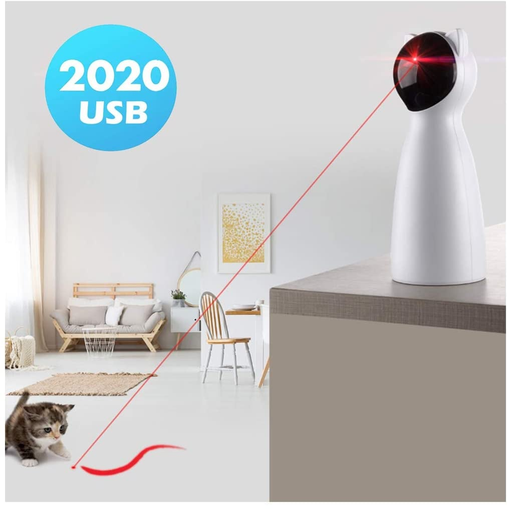 Yvelife Cat Laser Automatic Toy