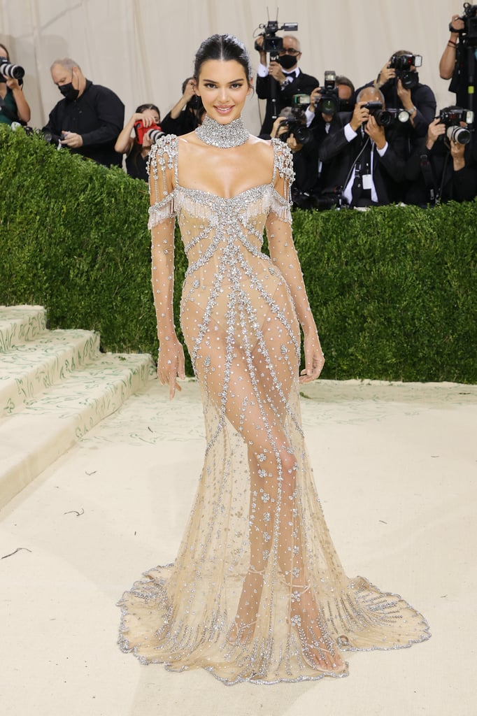 Kendall Jenner at the 2021 Met Gala