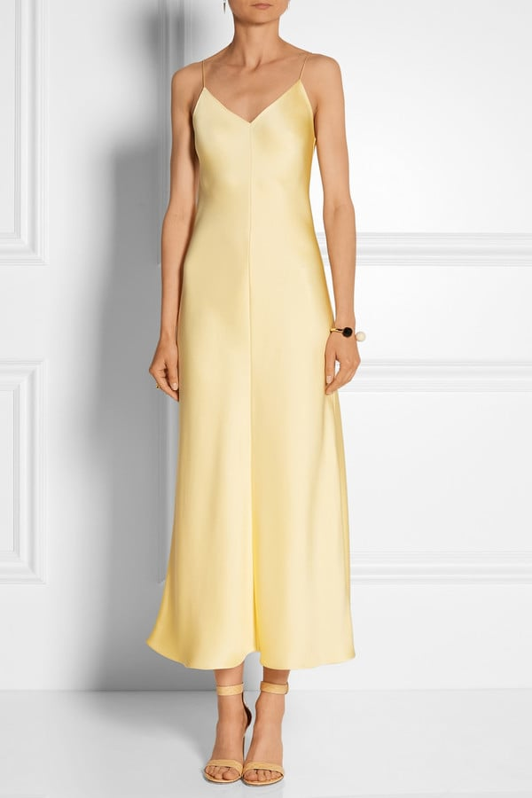 The Row Guinevere Silk-Satin Gown ($3,990) | What to Wear to Host a ...