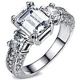 Fendina Crystal Engagement Ring