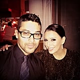 Wilmer Valderrama celebrated NYE in the Bahamas with Eva Longoria.  Source: Instagram user wilmervalderrama