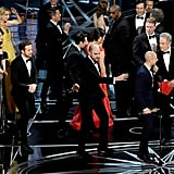 "Then the La La Land crew was like, ""Time to get off the stage!"" RelatedWait, That Oscars Snafu Was Actually Exactly Like the Ending of La La Land"
