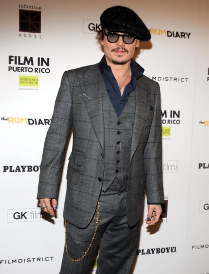 Johnny Depp at The Rum Diary NYC Premiere Pictures