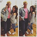 Kelly Kapowski and Zack Morris From Saved by the Bell