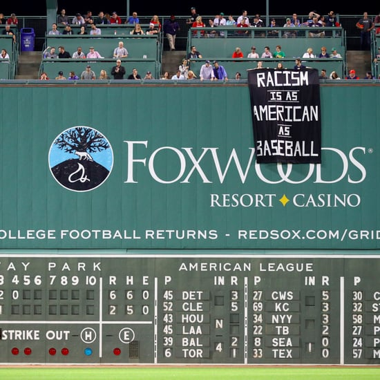 Racism Banner Displayed at Fenway Park